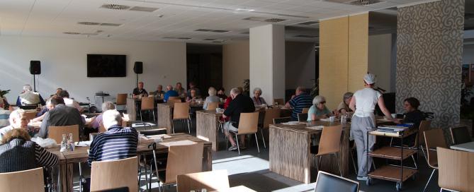 Jedilnica, nov dom starejših občanov Domžale, oskrbovana stanovanja, MGC Bistrica
